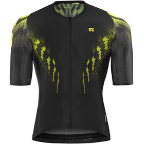 Alé Cycling R-EV1 Pro Race Short Sleeve Jersey Men black-fluo yellow
